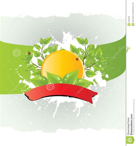 vector template of a environmental protection stock photo