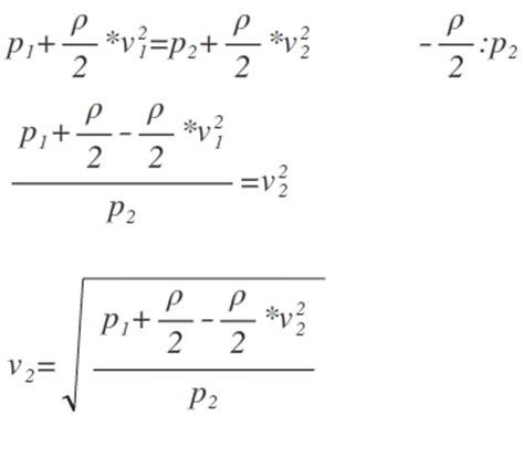 Bernoulli Scformula formel formel umstellen bernoulli gleichung mathelounge