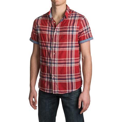 Jachs Ny Plaid Shirt Branded jachs ny single pocket plaid shirt for save 87