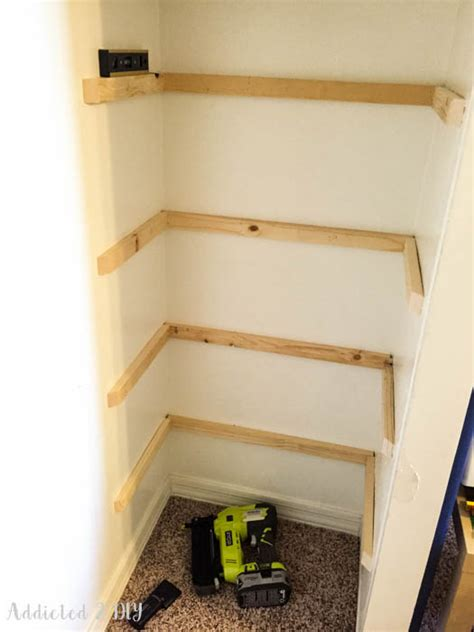Installing Shelves In Closet by Diy Organized Kid S Closet Makeover No More Wasted Space