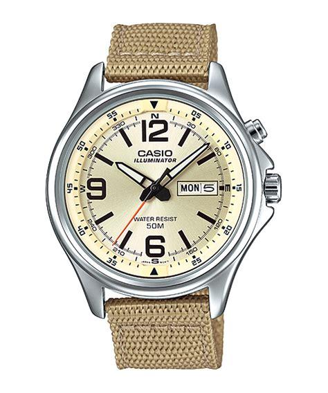 Jam Tangan Casio Aw 80v 1bv jam tangan pria dengan tali kanvas dari casio standart