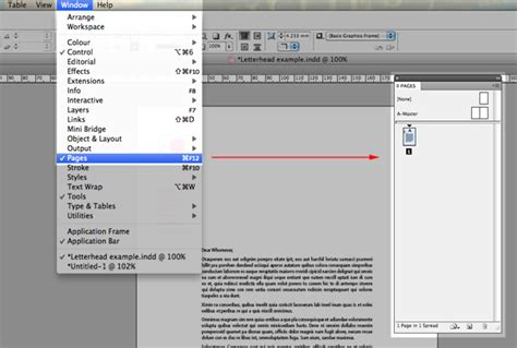 indesign layout pages side by side quick tip designing a basic compliment slip with indesign cs5