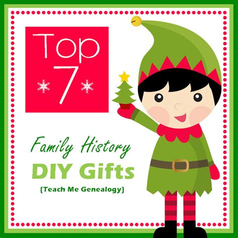 top 7 family history gifts diy do it yourself teach me