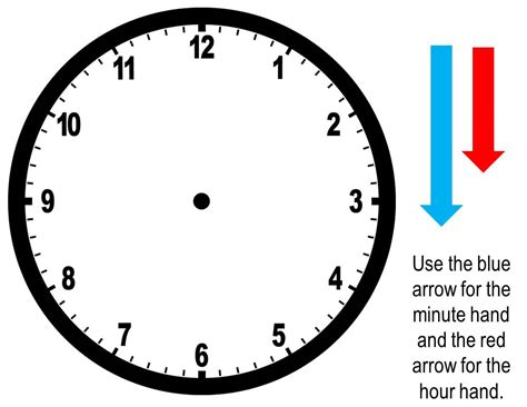 make your own clock template a clock worksheet worksheets for all and