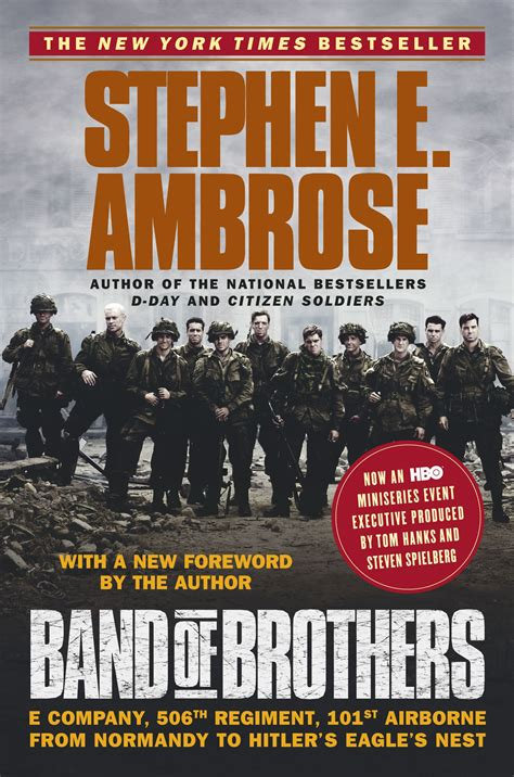 two boring brothers books band of brothers book by stephen e ambrose official