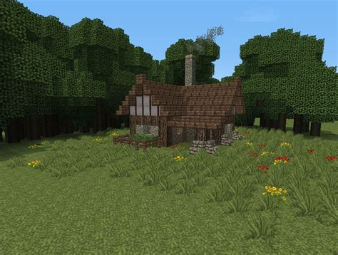 smallest minecraft house small medieval house design minecraft project