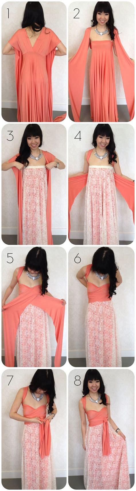 top 10 diy clothing tutorials wrap dresses infinity dress and wraps