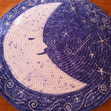 Moon And Rug by Moon And Braided Rug From Usa Organic Cotton Aftcra