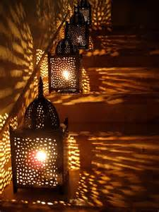 outdoor lighting for photography arabian style lanterns cast cozy glow on the stairs