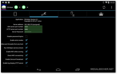 ssh android how to install ssh server as root on android 4 4 kitkat megaleecher net