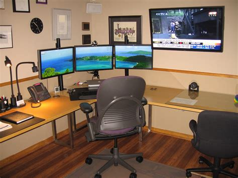 Home Business Ideas With Computers Comfortable Home Office And Graphic Design Station