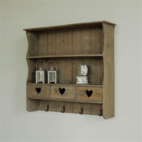 wooden wall shelves grey wall shelf with drawers melody maison 174