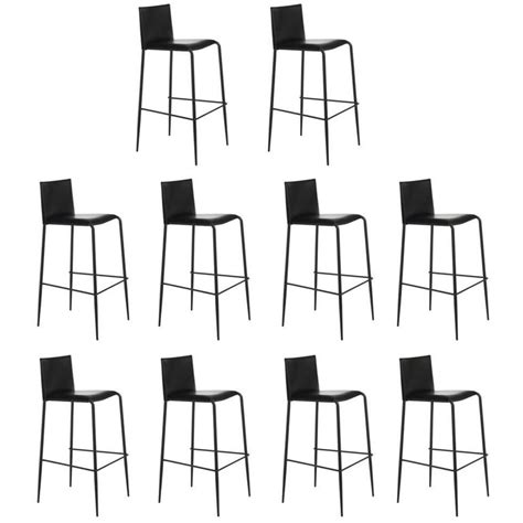 Bar Stools Made In Italy by Italian Modern Bar Stool Made Of Leather Made In Italy