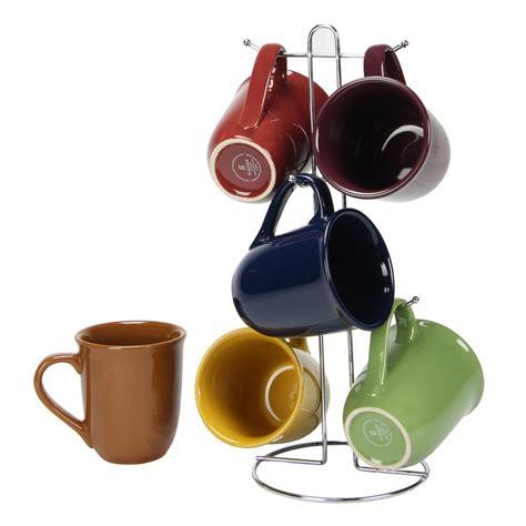 amaretto color gibson home cafe amaretto assorted colors 15 oz mug set
