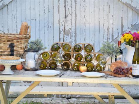 Creative Ideas For Wine Racks by 15 Creative Wine Racks And Wine Storage Ideas Hgtv