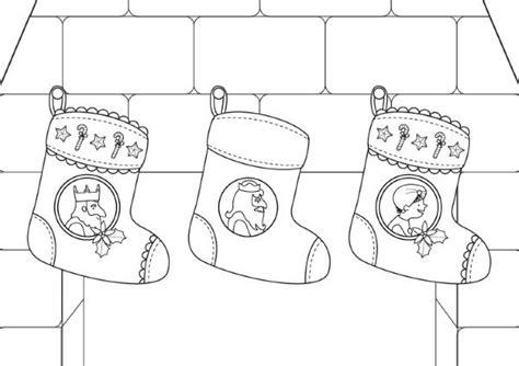 dibujos de navidad para colorear e imprimir reyes magos calcetines de navidad de los reyes magos dibujo para