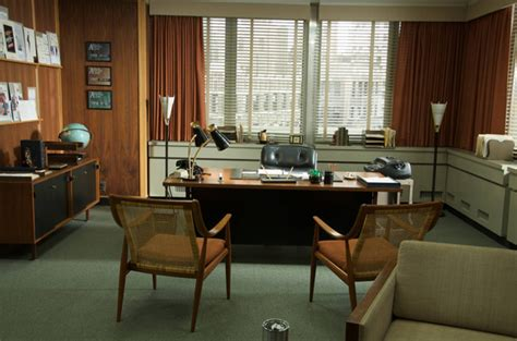 office set design tv show set mad men interior designs interiorholic com