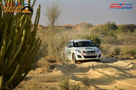 Maruti Suzuki Desert Suresh Rana Clinches Maruti Suzuki Desert 2017 The