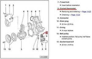 2004 Audi A4 Thermostat For Replacing Thermostat On A 2004 Audi A4