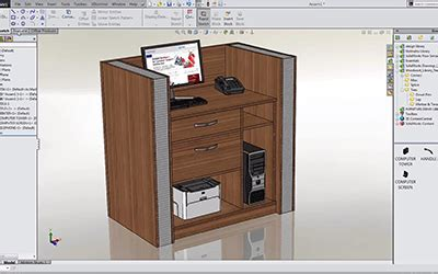 solidworks  design furniture cadtek systems