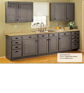 Grey Glazed Kitchen Cabinets Federal Gray Glazed Light Counters I Like The Fact That It S A Warm Gray Rather Than A Cool