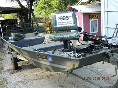 jon boat with trailer and motor jon boat motor and trailer boats for sale