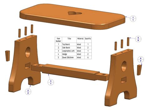 wood plan topic wooden footstool plans