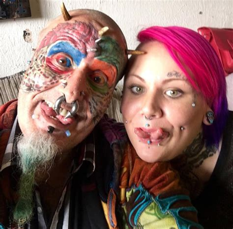 extreme body modification ted richards cuts off his ears