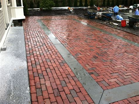 bricks for backyard the garden renovation primer building a brick terrace