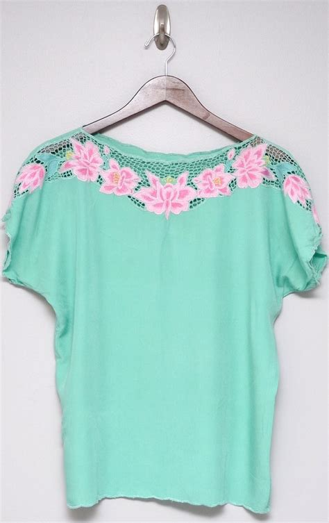 Black Yellow Flower Shirt Size Sml 47 best bali cutwork images on