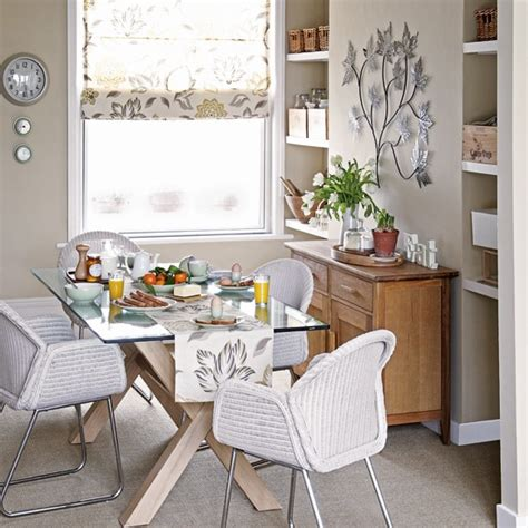 earth tone dining room decorating ideas image