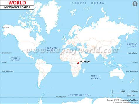 uganda on world map where is uganda location of uganda