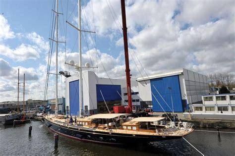 zeiljacht athos superyacht athos by holland jachtbouw yacht charter