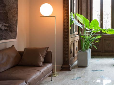 Buy The Flos Ic F2 Floor L At Nest Co Uk