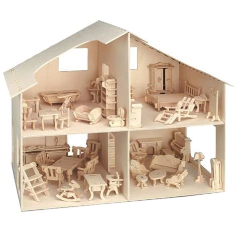 Unto This Last Flatpack Wooden Furniture by Wooden Dolls House Includes Furniture Flat Pack Plywood