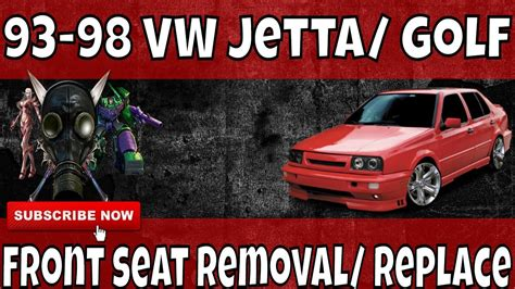online auto repair manual 2011 volkswagen golf seat position control how to remove 93 99 mk3 vw volkswagen jetta front seat removal repair youtube