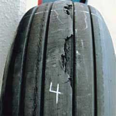 examination  recommended action aircraft tires bridgestone corporation