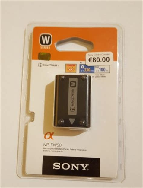 Sony Value Kit Acc Bbv5 Baterai Sony Np Fv50 Sony Lcs Bbd Ori np fw50 w series sony battery pack for nex for sale in park west dublin from salesman81