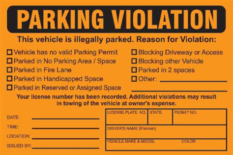 fake parking ticket template out of darkness