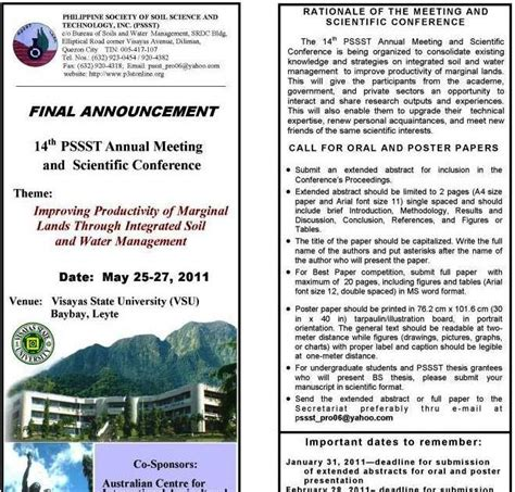 global soil security symposium soil science society of soil and environment national conference of the