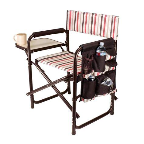 picnic time sports chair picnic time moka collection sports portable folding patio