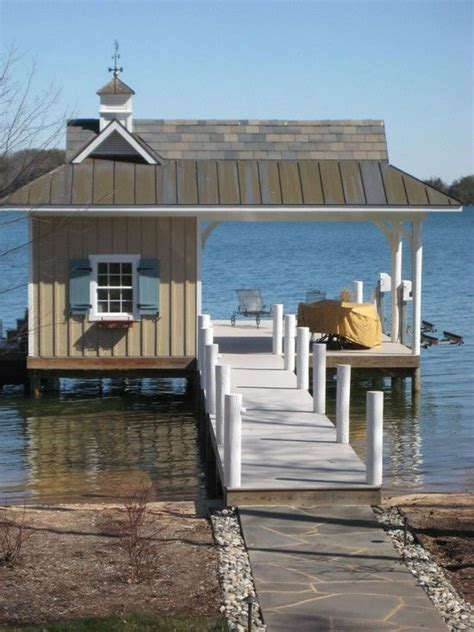 boat dock ideas easy on the eye garden chairs on boat dock ideas with