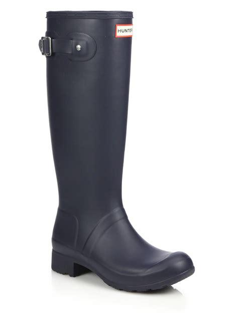 packable boots original tour packable boots in blue navy lyst
