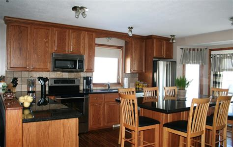 honey kitchen cabinets oak cabinets with granite countertops oak kitchen cabinets