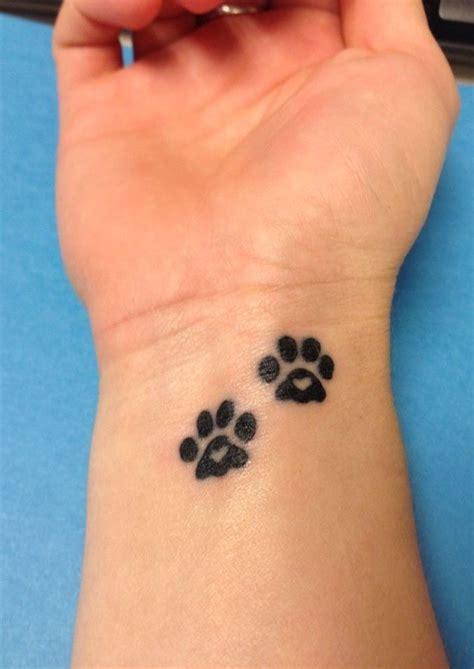 dog paw print tattoos designs lovely black paw print design march 2016