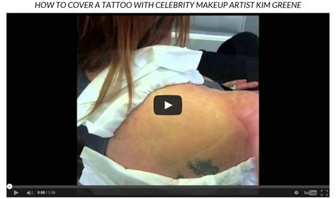 best cover up makeup for tattoos best cover makeup waterproof concealer to cover