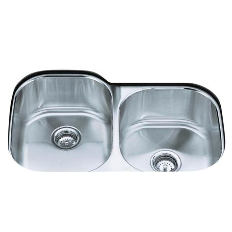 kohler stainless undermount sink kohler k 3354 na undertone undermount stainless steel 20 1