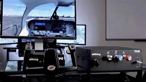 flight simulator controls  pilots aopa