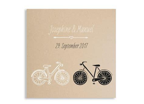 Hochzeitseinladung Fahrrad by Hochzeitseinladungen Fahrrad Familiensache