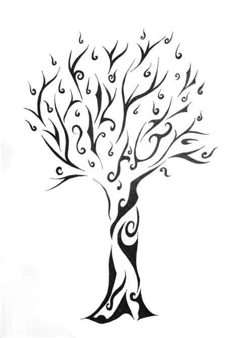 tribal tattoo tree tree tattoos designs ideas and meaning tattoos for you